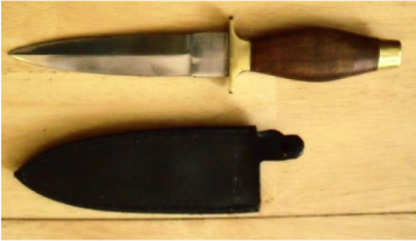 BOOT KNIVES with leather sheaths