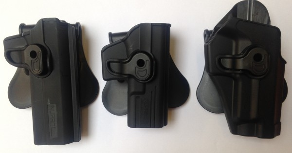HOLSTERS front view