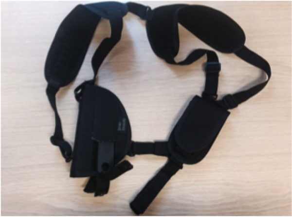 SHOULDER HOLSTER FOR SEMI AUTOMATIC