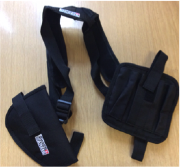 SHOULDER HOLSTER FOR SEMI AUTOMATIC2